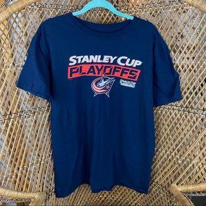 Columbus Blue Jackets Short Sleeve Shirt